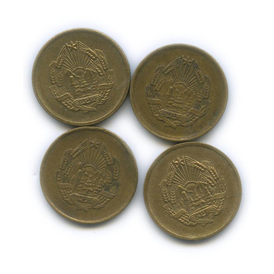 Набор монет 5 бани 1953-1956 (Румыния)