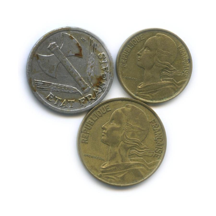 Набор монет 1943, 1970 (Франция)