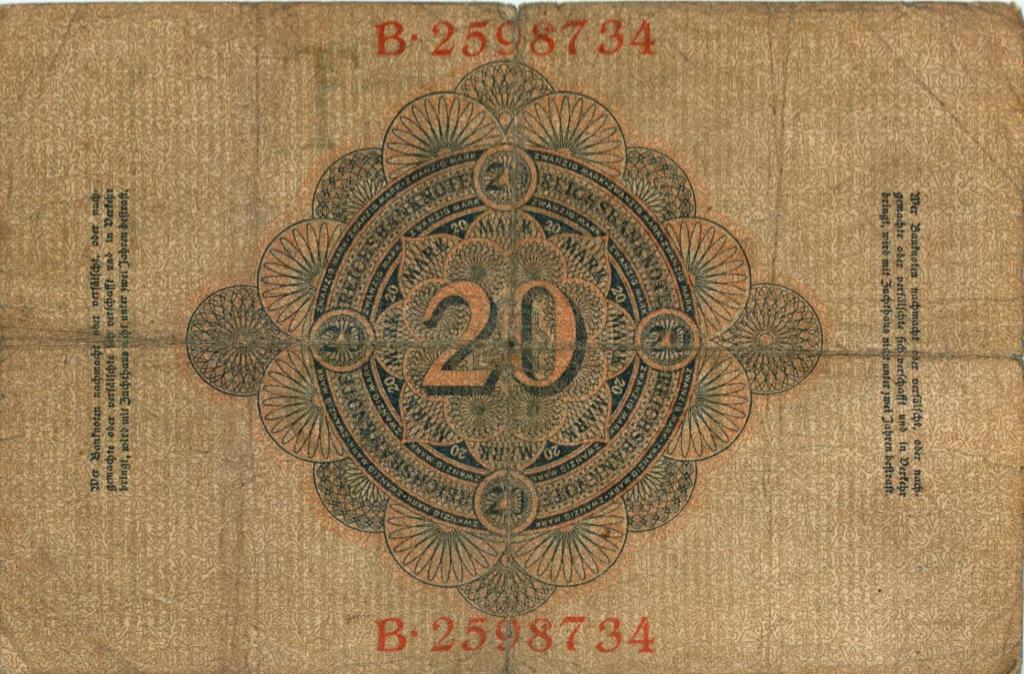 20 марок 1907 года (Германия)