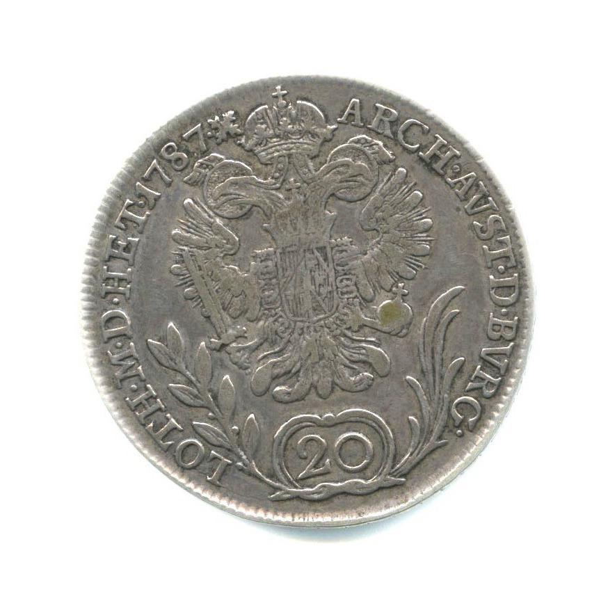 20 крейцеров - Иосиф II, Священная Римская империя 1787 года (Австрия)