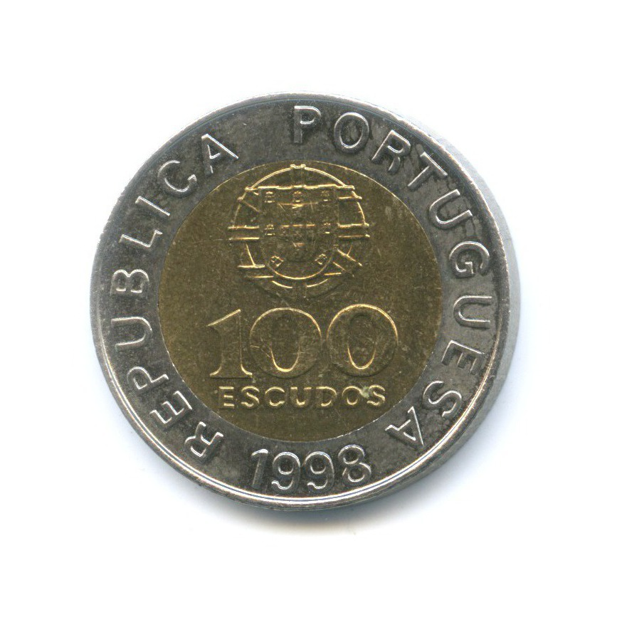 100 эскудо 1998 года (Португалия)