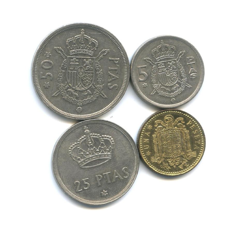 Набор монет, Испания 1975 года (Испания)