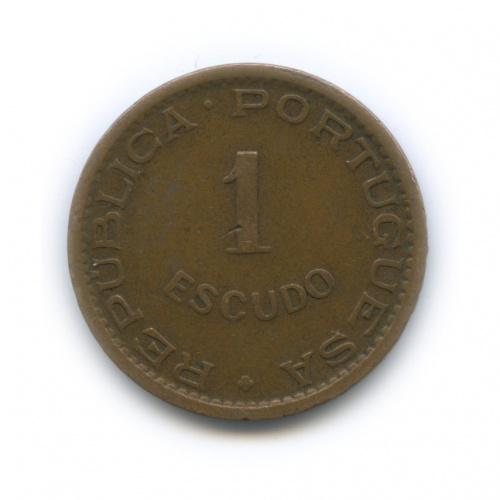 1 экудо, Мозамбик 1965 года (Португалия)