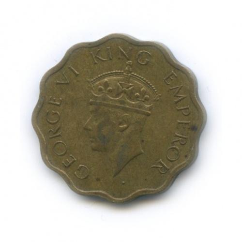 1 анна, Британская Индия 1944 года
