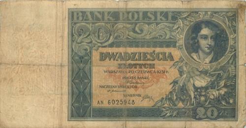 20 злотых 1931 года (Польша)