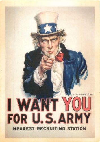 Открытое письмо «I want you for U. S. Army»