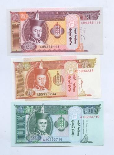 Набор банкнот 2008, 2013 (Монголия)