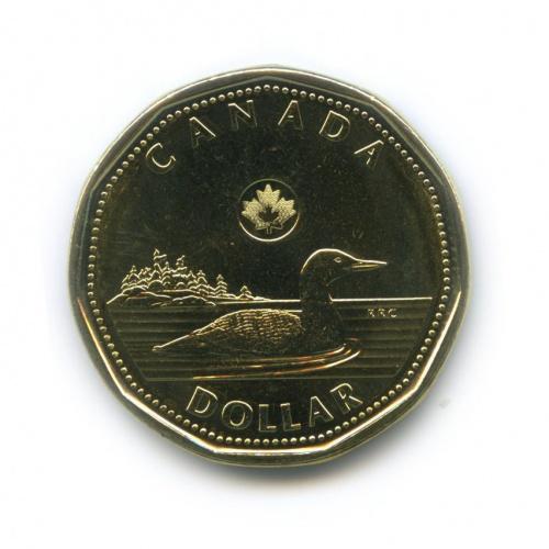 1 доллар — XXX летние Олимпийские Игры, Лондон 2012 - Лаки луни 2012 года (Канада)