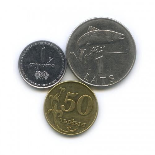 Набор монет (разные страны) 1993, 2008