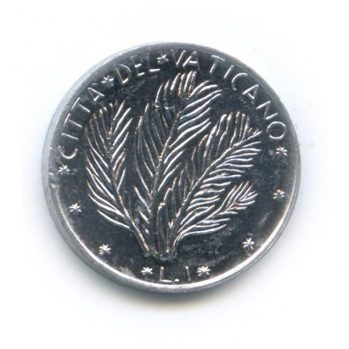 1 лира 1977 года (Ватикан)