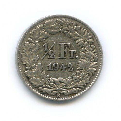 ½ франка 1942 года (Швейцария)