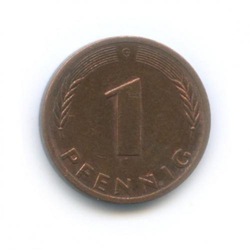 1 пфенниг 1979 года G (Германия)