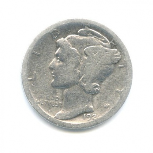 10 центов (дайм) 192? (США)