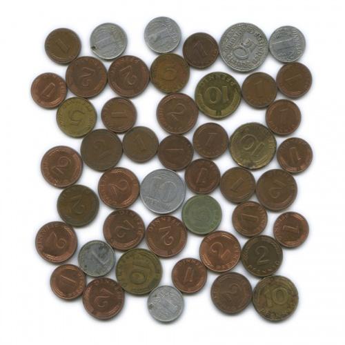Набор монет (46 шт.) (Германия)