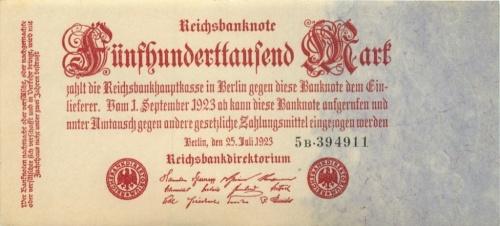 500000 марок 1923 года (Германия)
