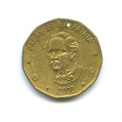 1 песо 2000 года (Доминикана)
