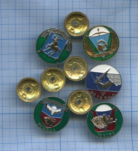 Набор знаков «ВДВ» (Россия)