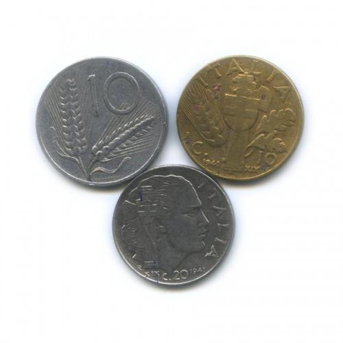 Набор монет 1941, 1954 (Италия)
