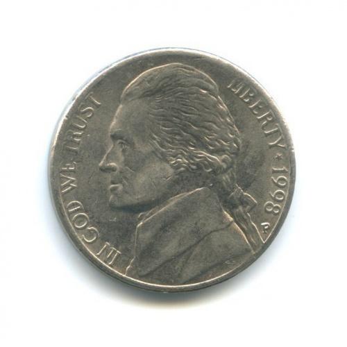 5 центов 1998 года P (США)