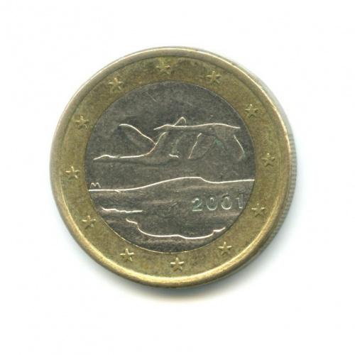 1 евро 2001 года (Финляндия)