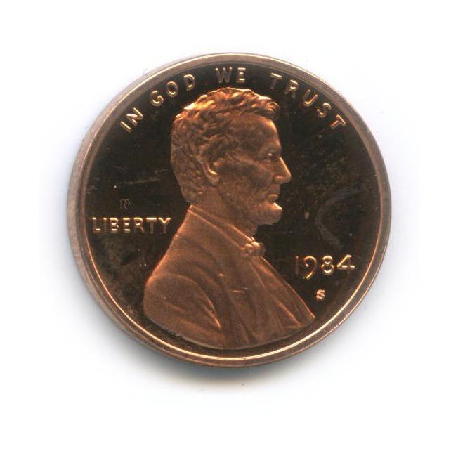 1 цент 1984 года S (США)
