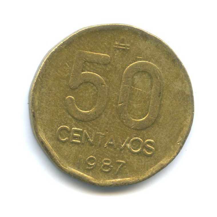 50 сентаво 1987 года (Аргентина)