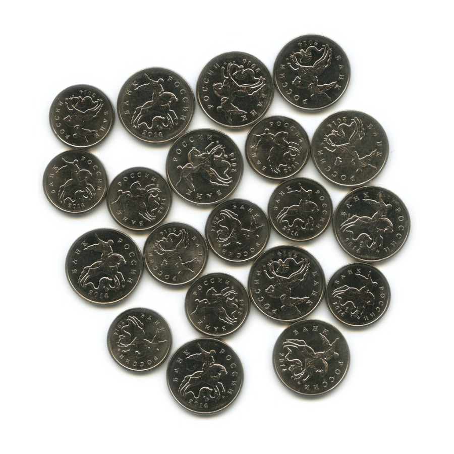 Набор монет России 2014 года М (Россия)
