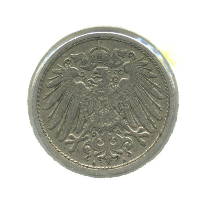 10 пфеннигов (вхолдере) 1904 года А (Германия)