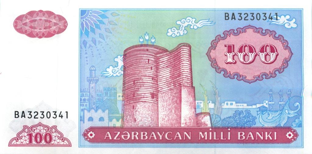100 манат 1999 года (Азербайджан)