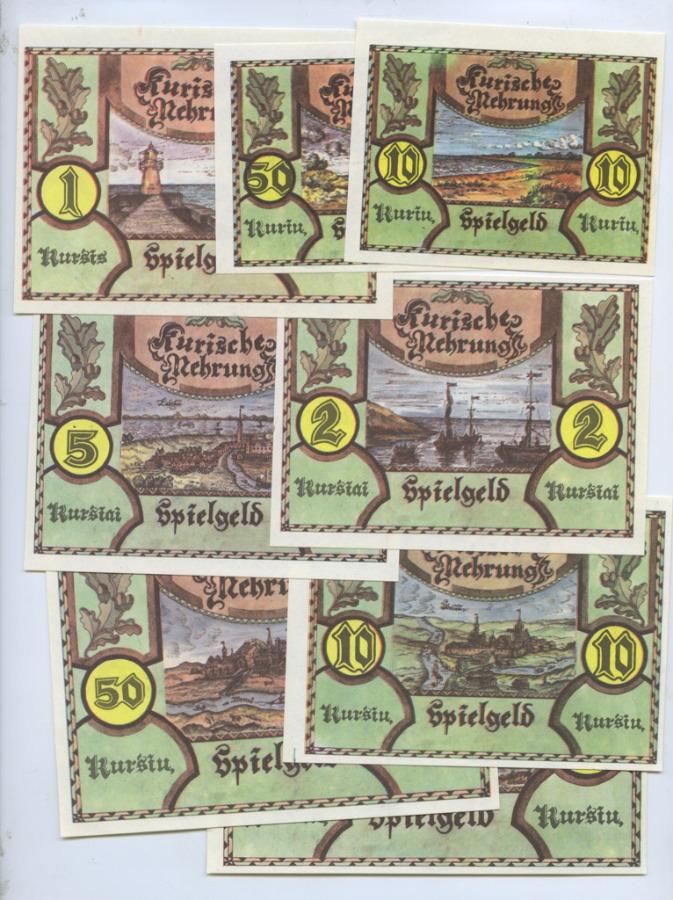 Набор благотворительных банкнот (в конверте) (Литва)