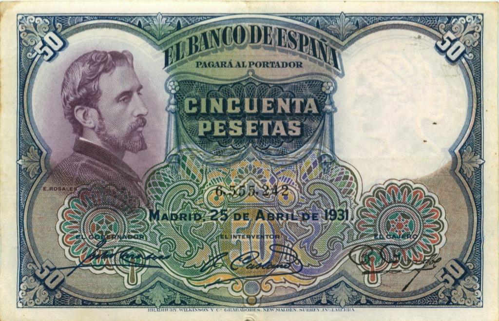 50 песет 1931 года (Испания)