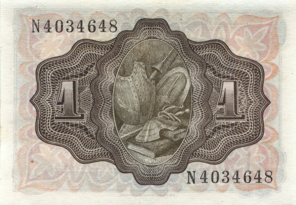1 песета 1951 года (Испания)