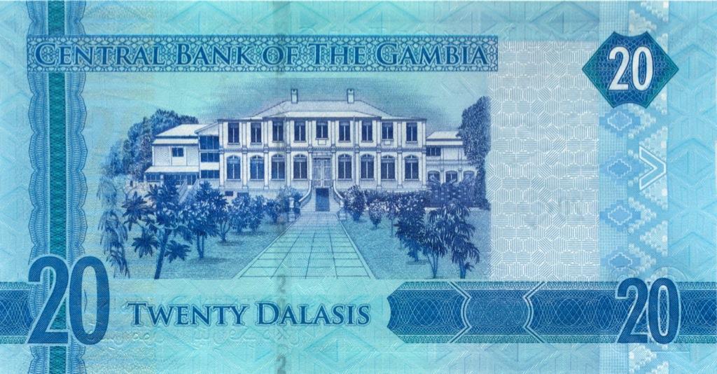 20 даласи (Гамбия)