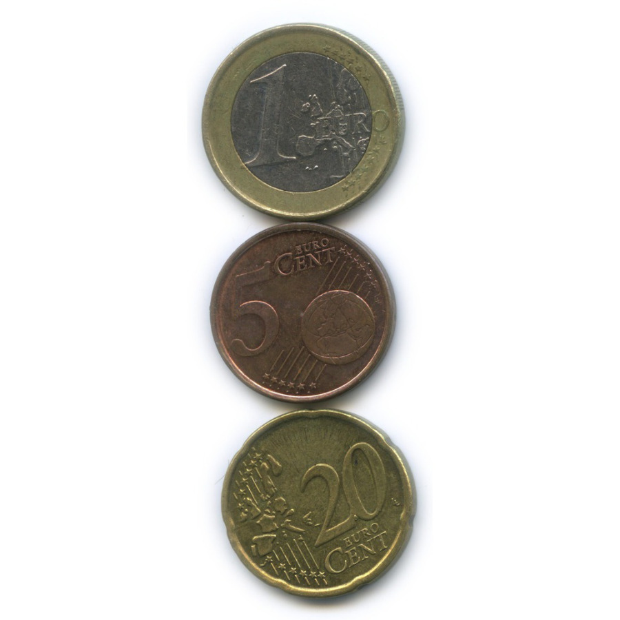 Набор монет 2001 года (Финляндия)