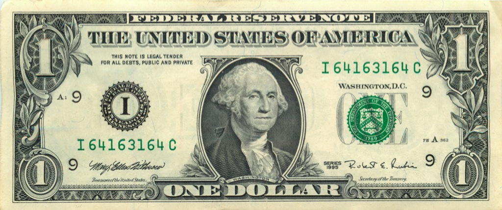 1 доллар 1995 года (США)