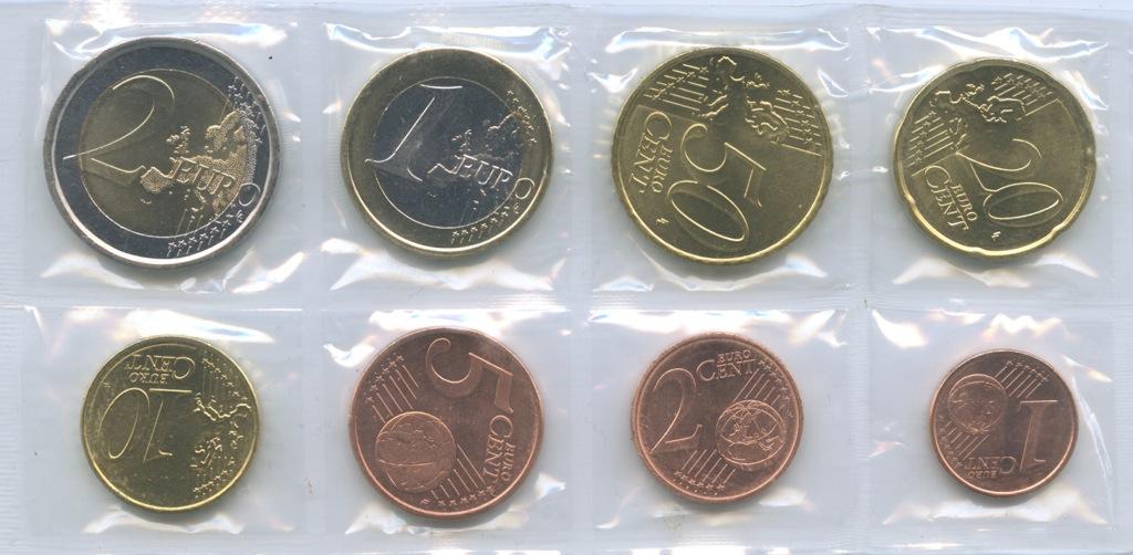 Набор монет (взапайке) 2011 года (Испания)