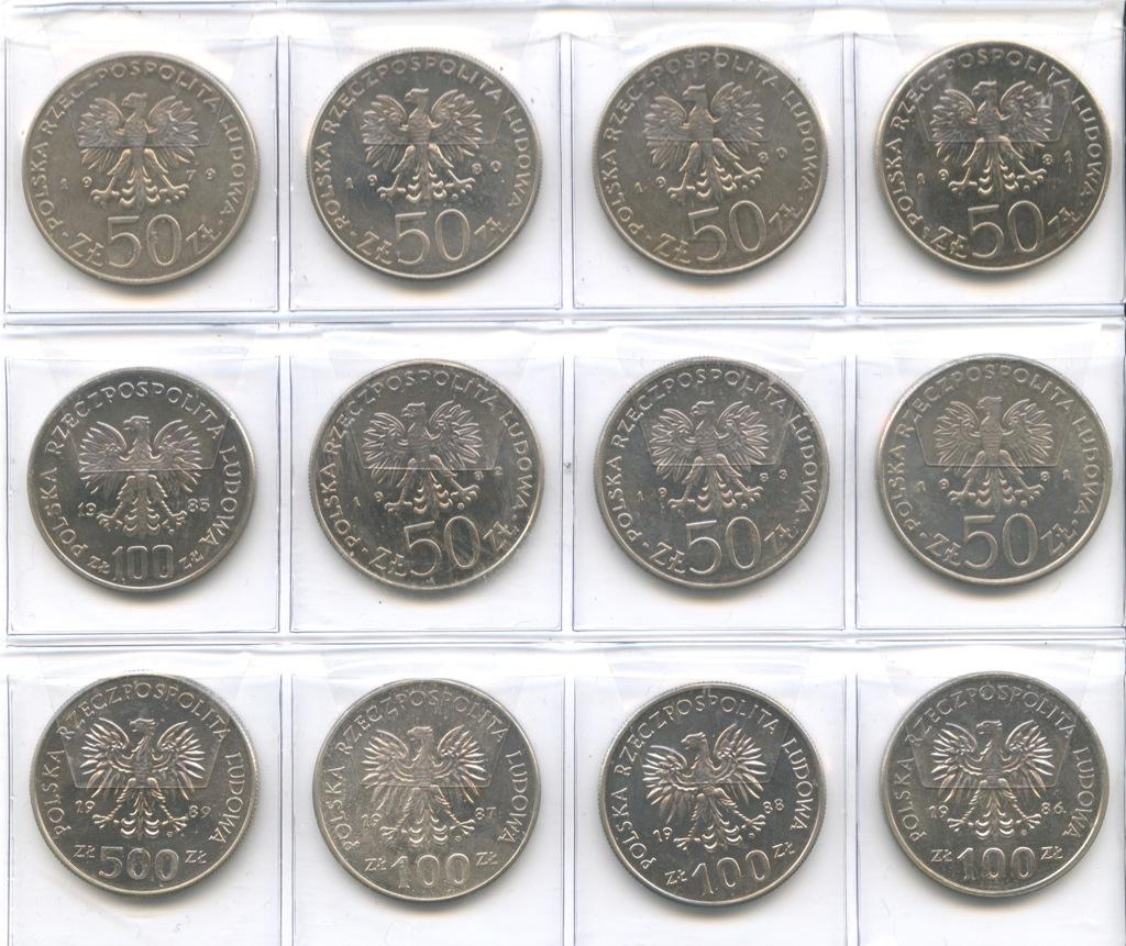 Набор монет - Польские правители 1981 года (Польша)