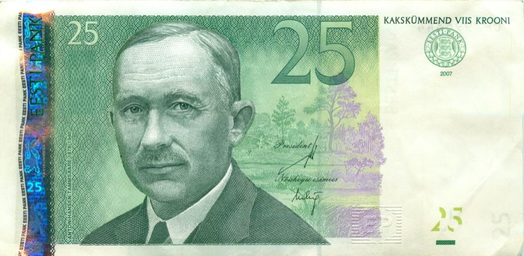 25 крон 2007 года (Эстония)