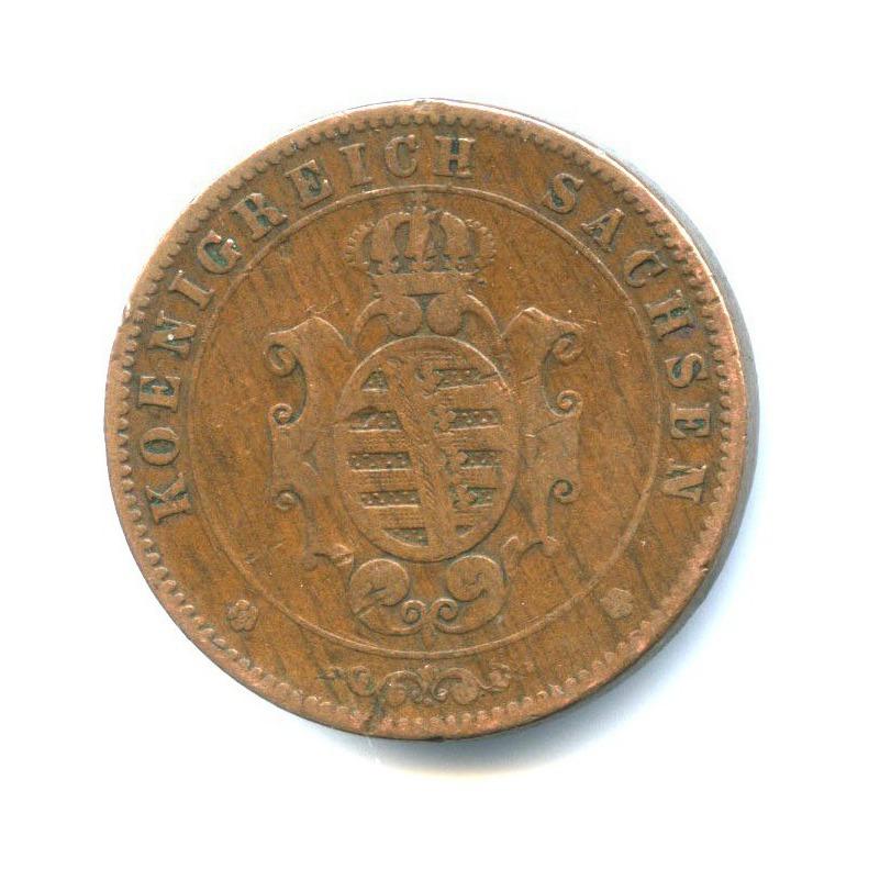 5 пфеннигов, Саксония 1862 года