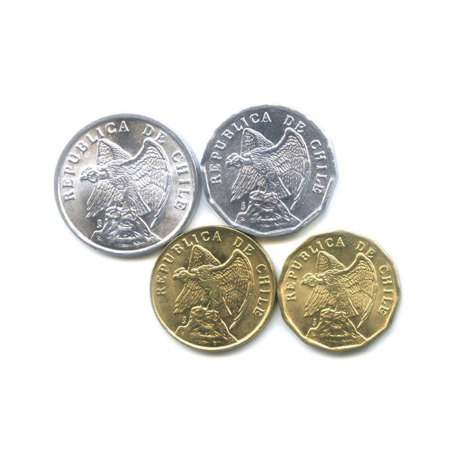 Набор монет 1975, 1979 (Чили)