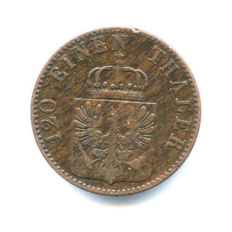 3 пфеннига, Пруссия 1861 года