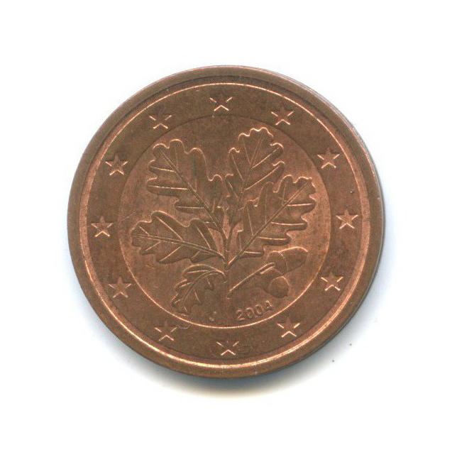 2 цента 2004 года J (Германия)