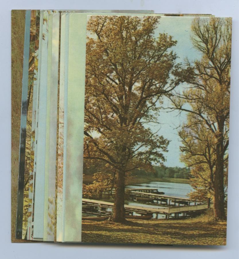 Набор открыток «Осень наСелигере» (16 шт.) 1968 года (СССР)