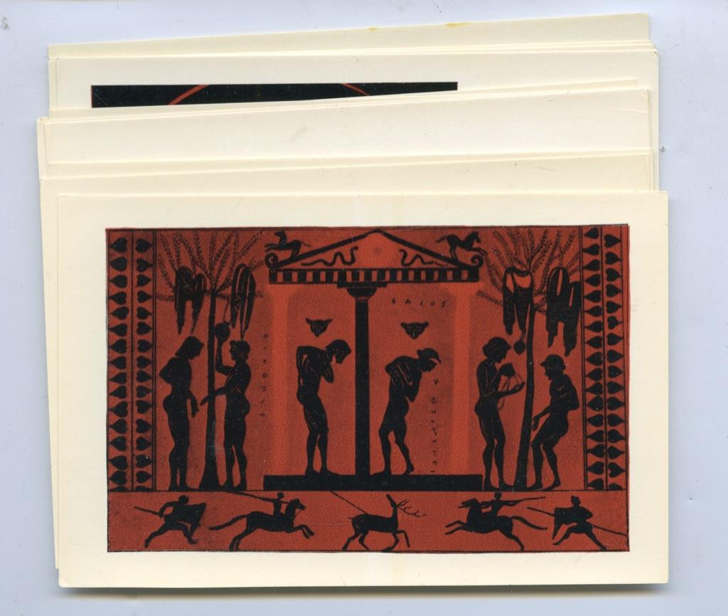 Набор открыток «Игры Древней Олимпии» (16 шт.) 1972 года (СССР)