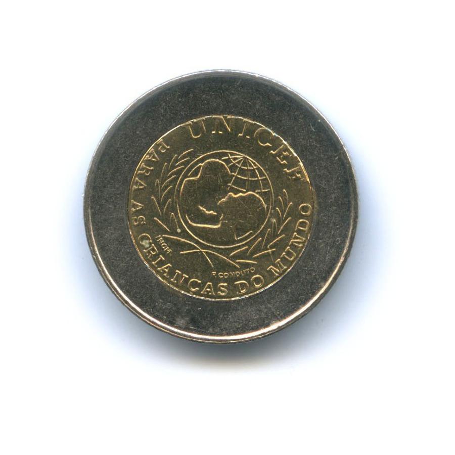 100 эскудо — ЮНИСЕФ 1999 года (Португалия)
