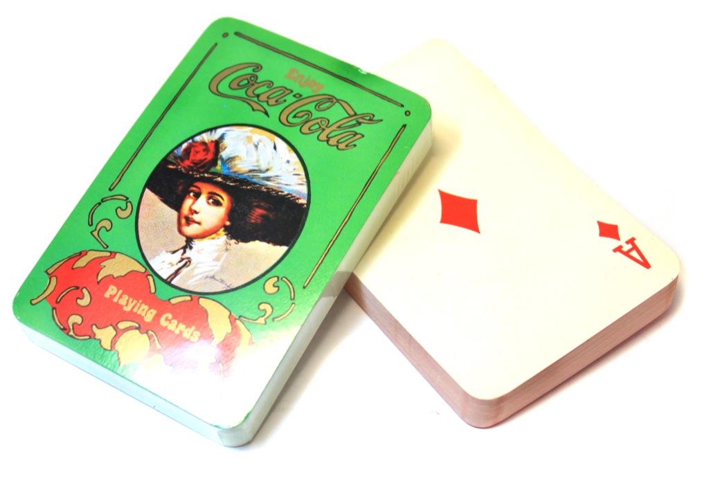Коллекционные игральные карты «Coca-Cola» (вкоробке) (Гонконг)