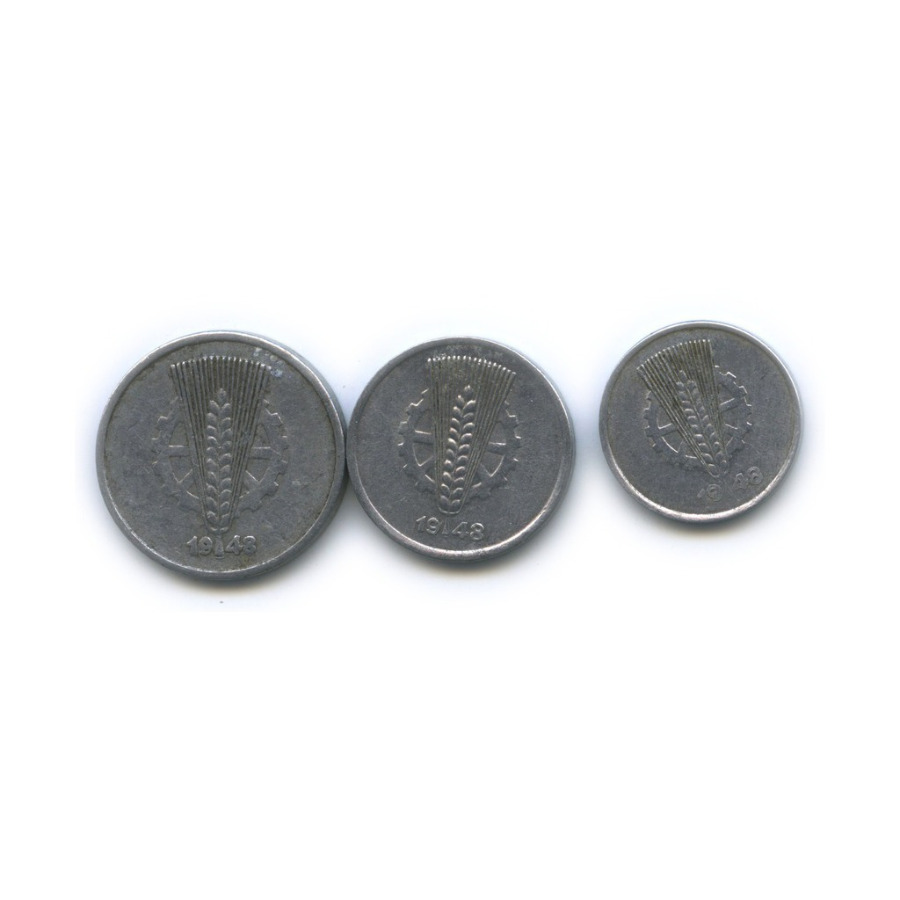 Набор монет 1948 года (Германия (ГДР))