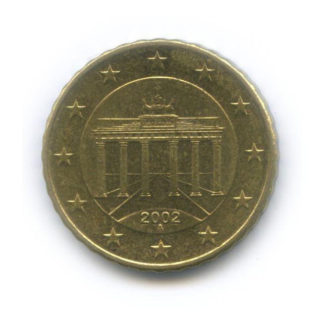 10 центов 2002 года A (Германия)
