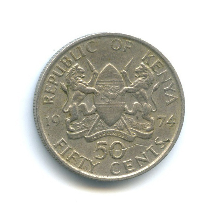 50 центов 1974 года (Кения)