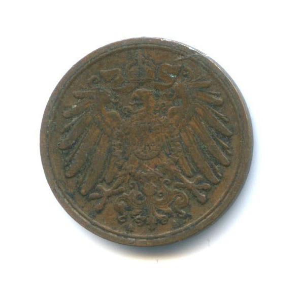 1 пфенниг 1911 года A (Германия)